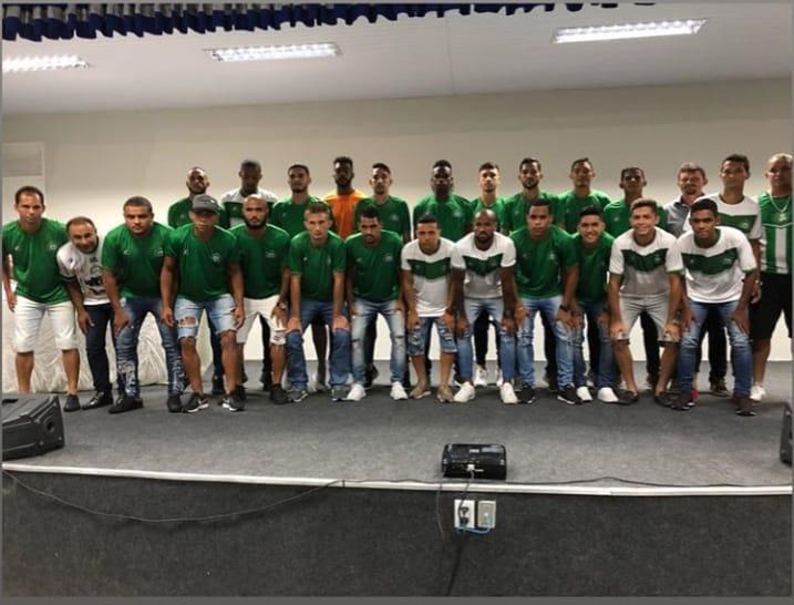 Mais de 20 jogadores foram apresentados no Icasa. Foto: Atson Rodrigo