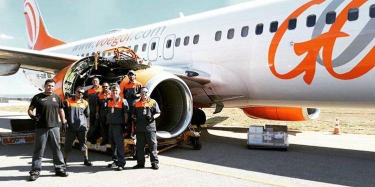 Após falha no motor, aeronave da Gol passa por manutenção em Juazeiro e volta a voar