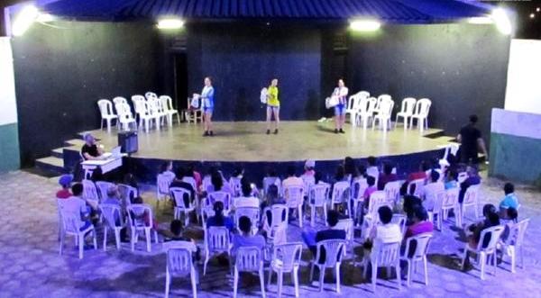 Caririaçu recebe mostra de teatro com diversos espetáculos gratuitos