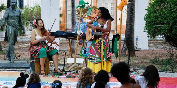 Espetáculo de contação de história é apresentado no Quarta é + Cultura em Juazeiro