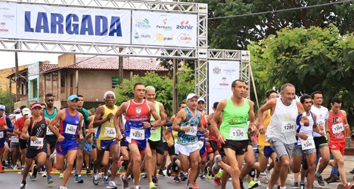 Meia Maratona Padre Cícero tem lançamento marcado; inscrição custa 3 kg de alimentos