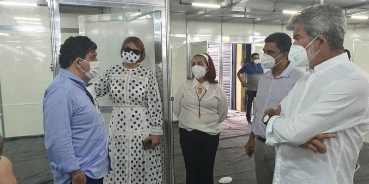 Hospital de campanha de Juazeiro do Norte deve ser inaugurado esta semana; cerca de 120 leitos serão disponibilizados