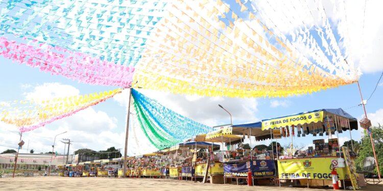 Em virtude da pandemia, tradicional Feira de Fogos não foi liberada em Juazeiro