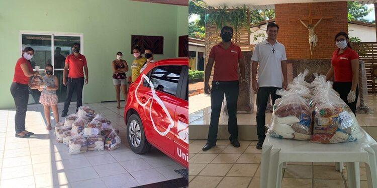 Campanha solidária doa alimentos para Acold e Aliança de Misericórdia em Barbalha