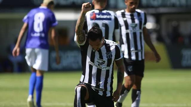 Em retorno do Cearense, Barbalha perde de 5 a 0 para o Ceará