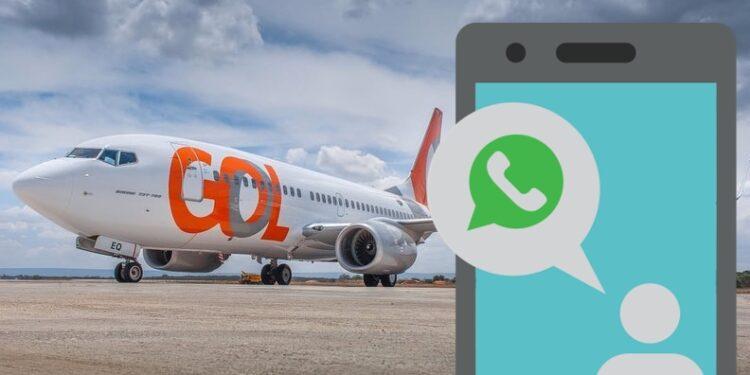 Com voos diários de Juazeiro para São Paulo, Gol lança check-in por WhatsApp