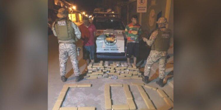 Dois homens são presos com mais de 130kg de maconha no Cariri