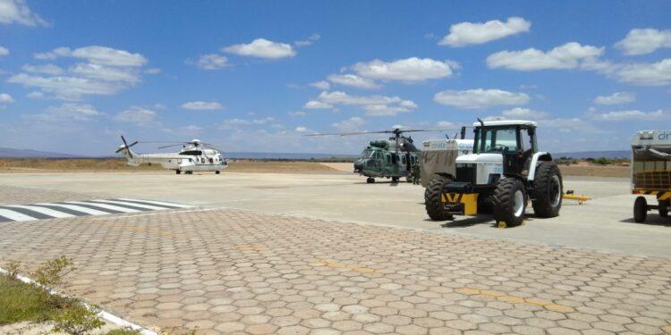 Aviões presidenciais desembarcam em Juazeiro; Bolsonaro deve vir ao Cariri nesta quinta (17)